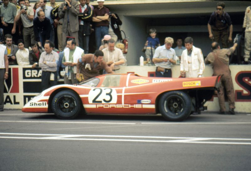 The Porsche 917 #23 (Hans Herrmann / Richard Attwood)