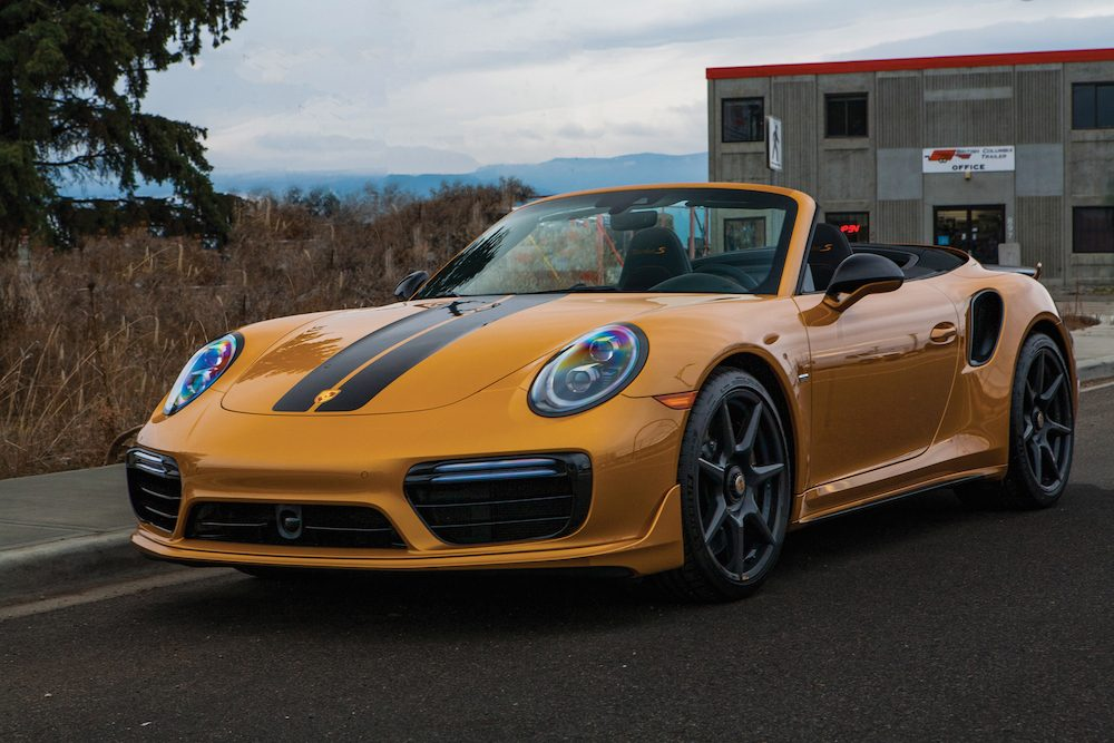 2019 Porsche 911 Turbo S Cabriolet Exclusive Series ©2020 Courtesy of RM Sotheby's