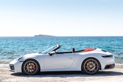 Carrera 4S Cabriolet - Carrara White Metallic (S-GO 4121)