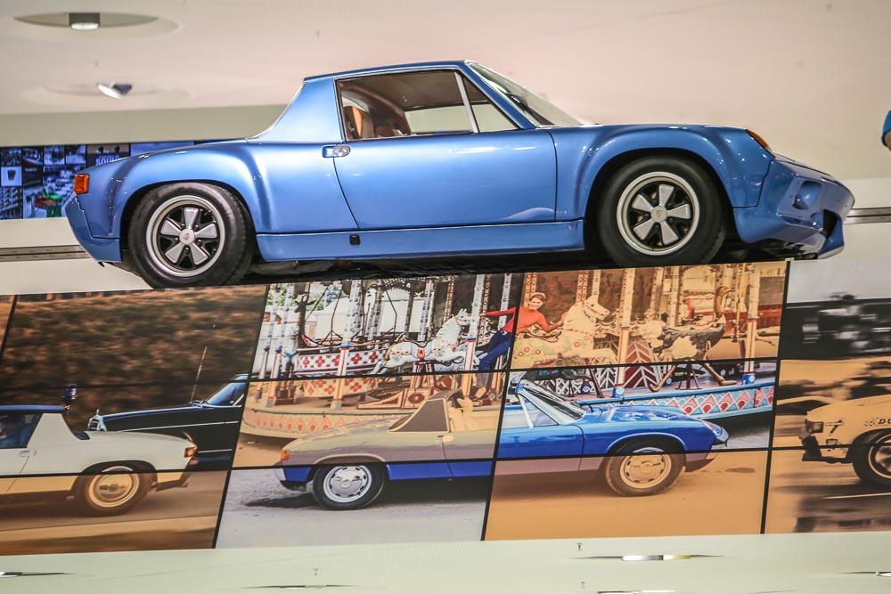 Porsche 914 day at the Porsche museum