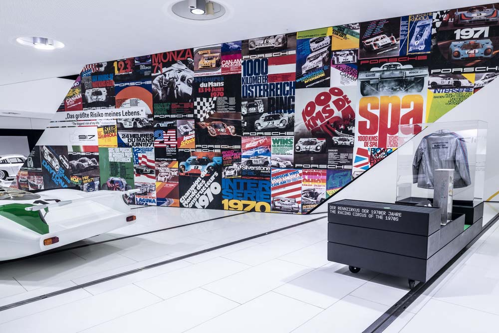 """The name says it all: """"50 Years of Porsche 917 – Colours of Speed"""" will show the brightness of all the 917 models."""