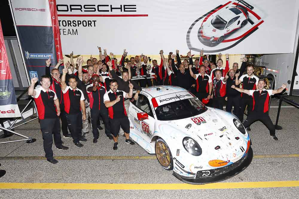 7 years - 7 titles - Porsche 911 RSR in North America