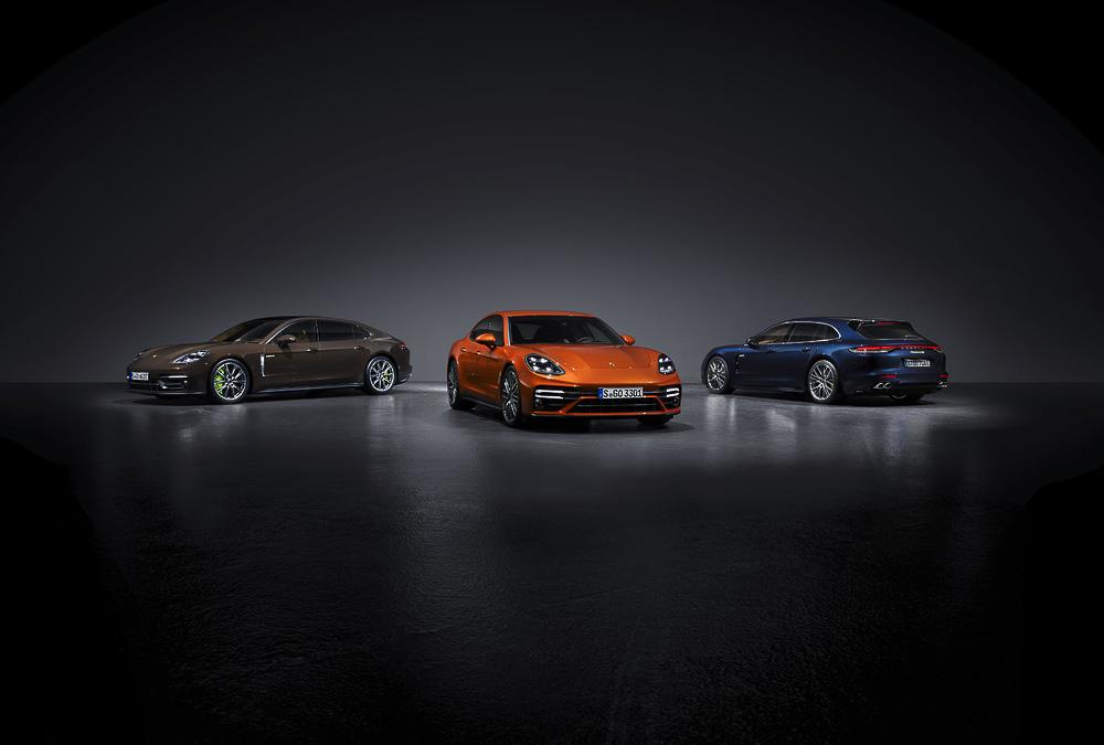 The new Porsche Panamera Models