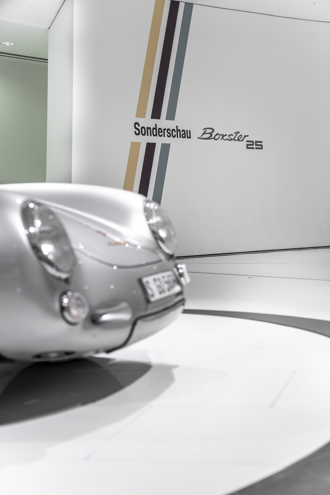 A virtual experience - the special exhibition celebrating the Boxster's milestone birthday.