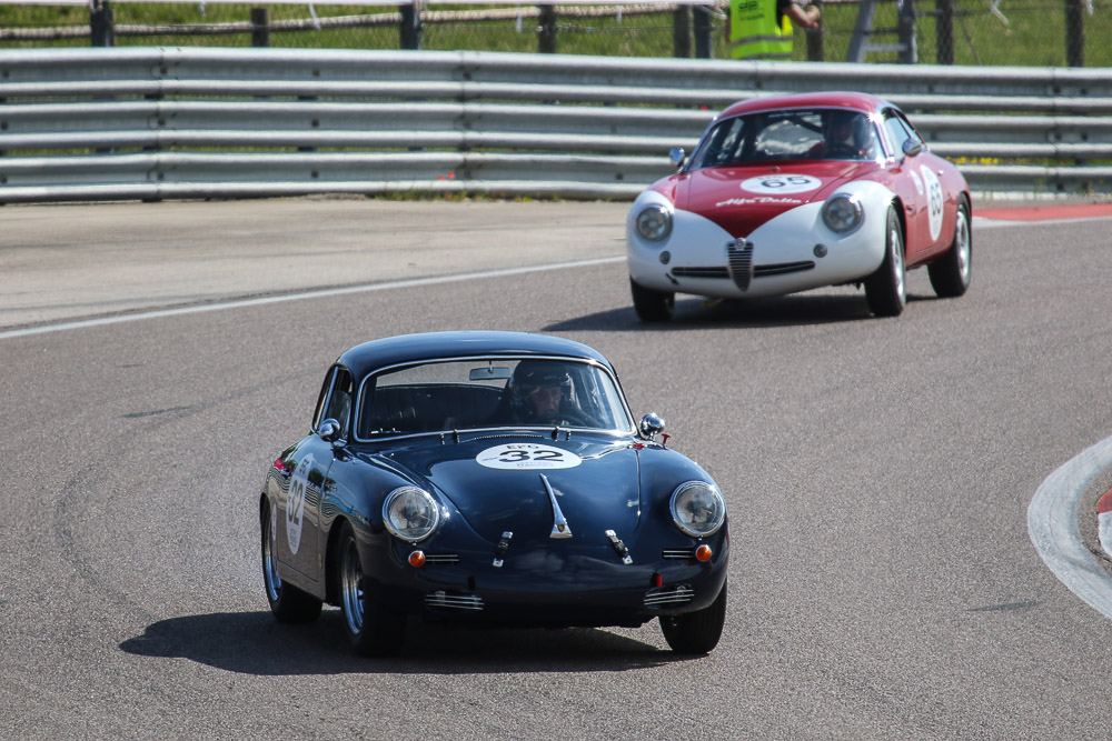 Marie-Claude-FIRMENICH-Benjamin-MONNAY-PORSCHE-356-B-2000-GS-Carrera-2-coupé-1962-6