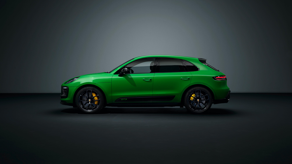 The new Porsche Macan GTS with sport package - 2021
