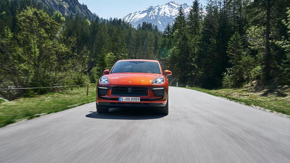 The new Porsche Macan S - 2021
