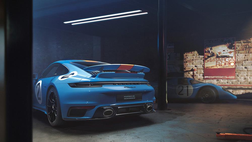 Porsche 911 Turbo S 'Pedro Rodriguez'