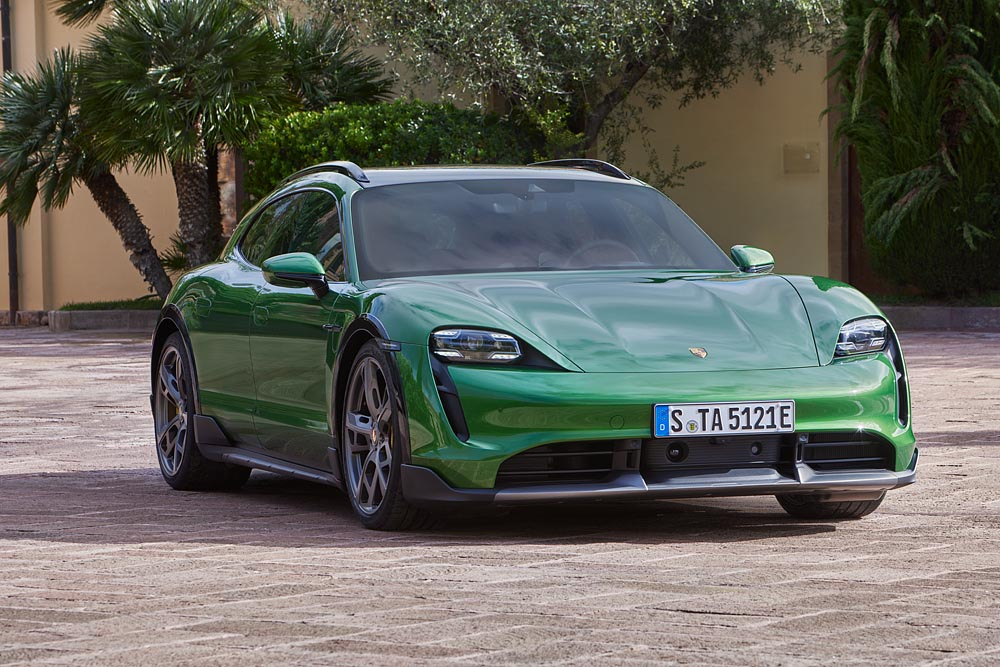 The sports car manufacturer is expanding the product portfolio of its first all-electric sports car range with the addition of this versatile off-road version.