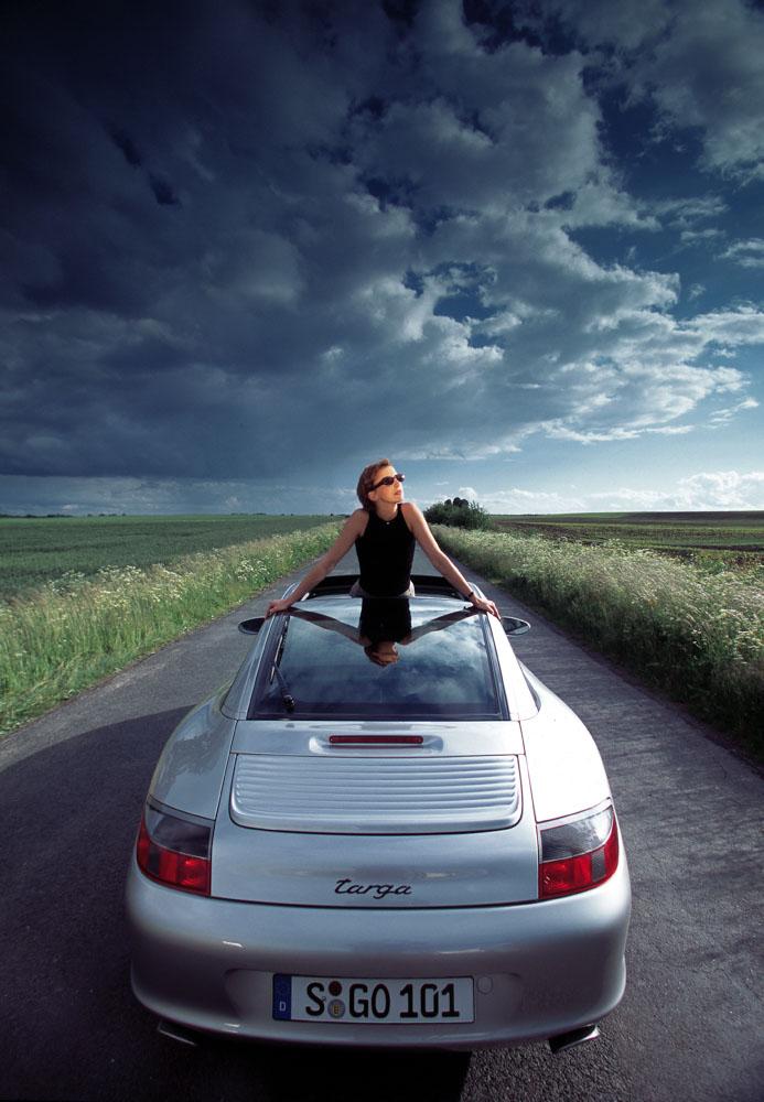 Porsche 911 Targa, model year 2002