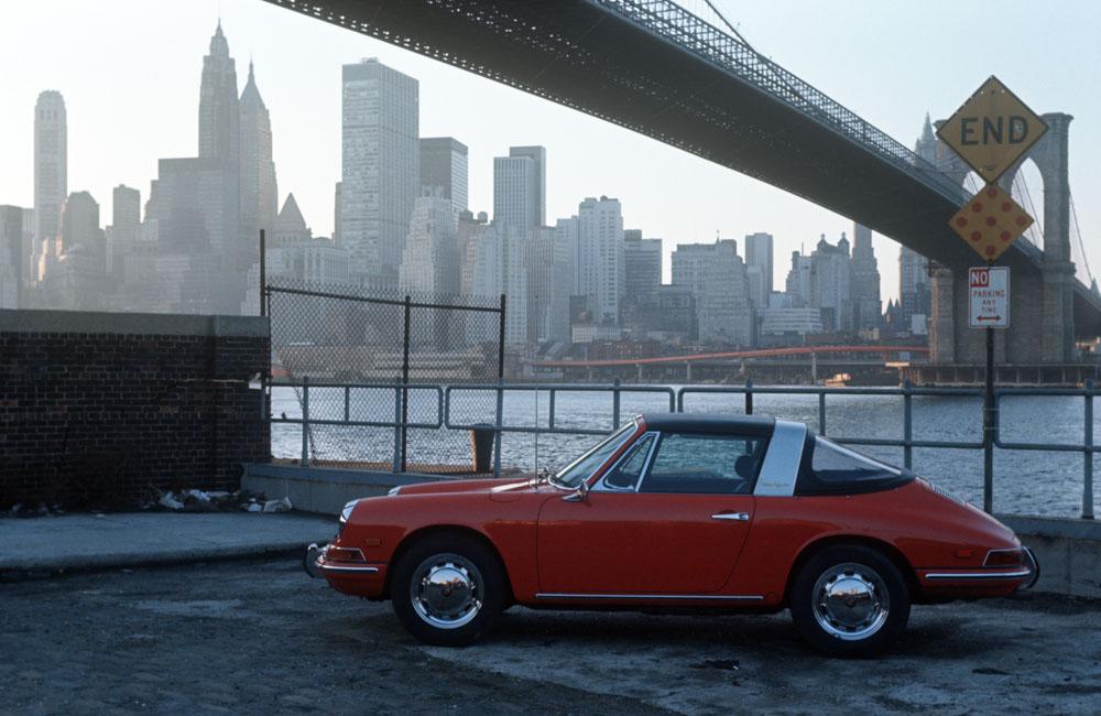 New York 1967: 912 Targa, model year 1968