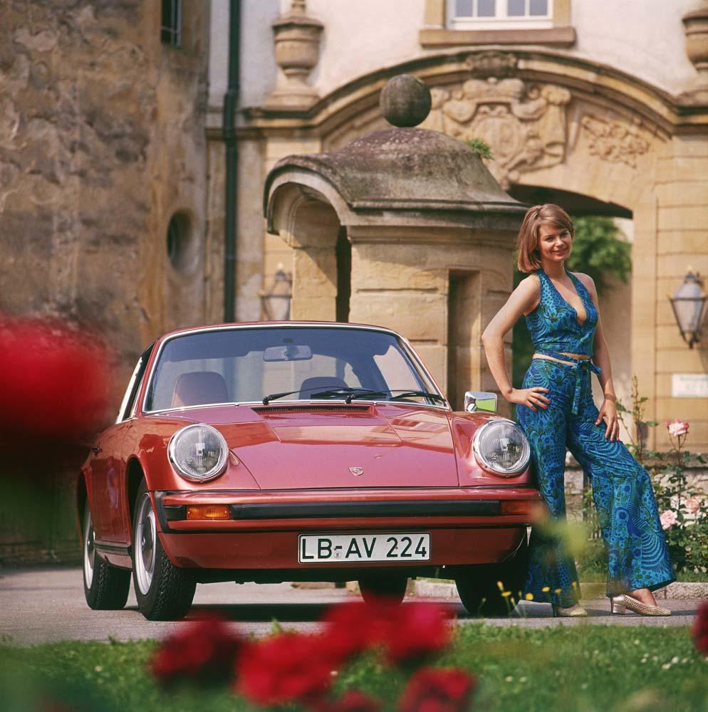 Porsche Type 911 2,7 Targa; model year 1974