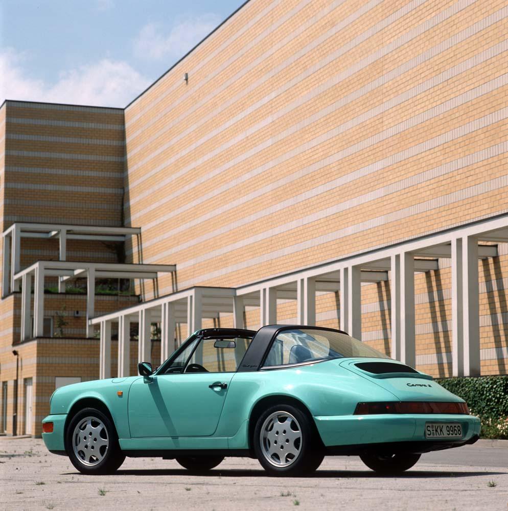 Porsche 911 Carrera 2 3,6 Targa, model year 1990
