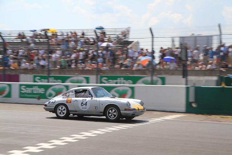 Oliver Bryant - 1965 Porsche 911 - Porsche Classic Le Mans Race