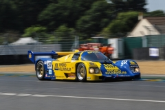 Paul - Andrew Higgins - Group C - Porsche 962 - Le Mans Classic 2018