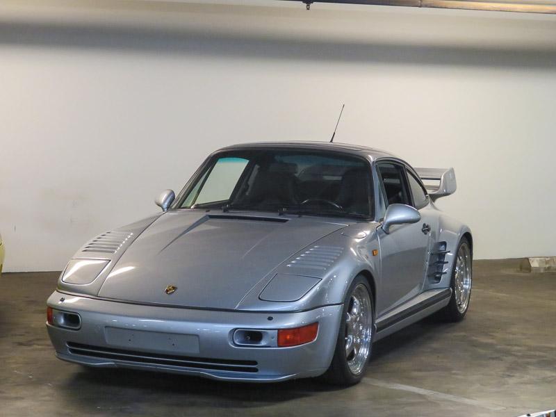 Flatnose Porsche 911 Turbo