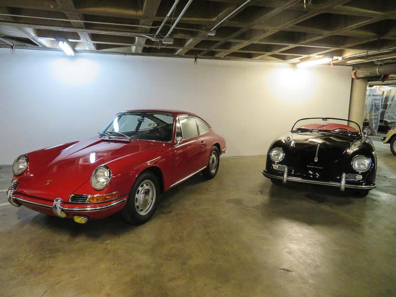 early Porsche 911 and 356 Speedster